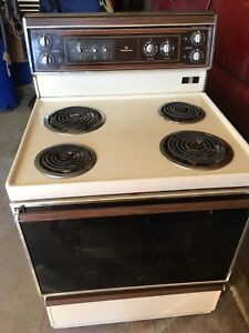 """Working stove 30"""""""