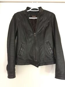 Danier authentic leather jacket size 2XS