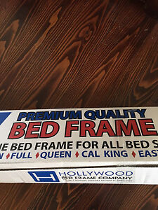 Bed Frame   -   Fits:  Single, Double & Queen sizes.
