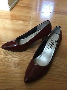 Burgundy heels