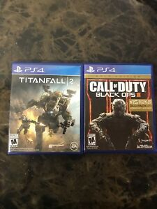 Call of duty black ops 3 + titan fall 2