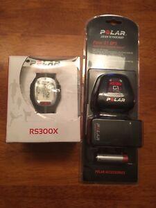 Polar RS300X Fitness Watch w/ GPS Sensor - Brand New