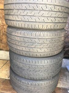 4-225/40R18 Continental all season