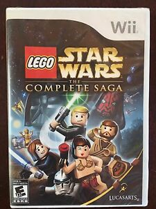 Star Wars Wii The Complete Saga
