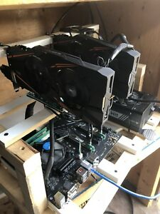 Mining rig,  1070 windforce GPU