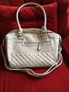 Light gray handbag 12x8x5 inch