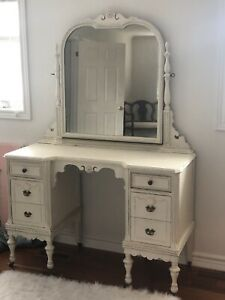 Restored Antique Vanity French Louis style