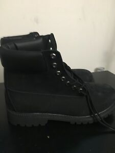 Timberland Boots (Black)