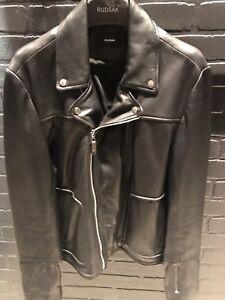 Brand New Rudsak Leather Biker jacket - Xlarge
