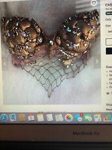 Mermaid shell bra