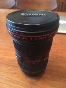 Mint Canon EF 16-35mm f/2.8 II USM Ultra Wide Angle Zoom L Lens