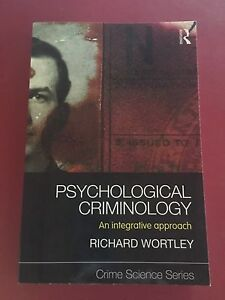 Criminology textbooks from Griffith University Runcorn Brisbane South West Preview