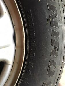 4 WINTER TIRES, ALMOST NEW! 250 OBO