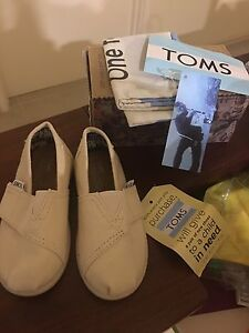 Toms kids shoes for sale Victoria Park Victoria Park Area Preview