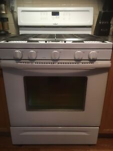 whirlpool gold  series gas/convection range