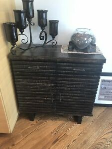 Kitchen /dining console side  table with drawers