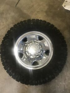 Ford 8 bolt rims/tires with dura trac tires