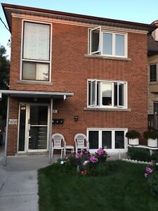 East York main level Triplex for rent