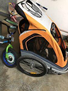 Chariot Pousette 2 places  2 en 1