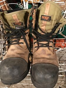 STC work boots used size 11