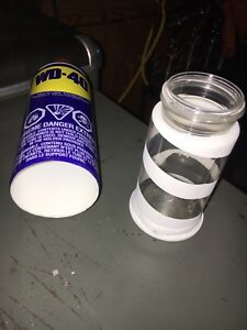 WD-40 safe/can