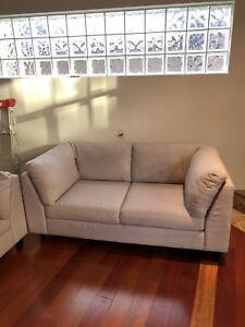 EQ3 Salema Loveseat Sofa