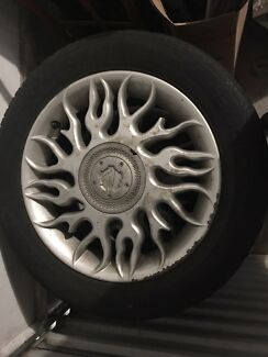 16inch commodore rims/tyres