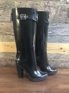 Authentic Brand New Coach Rain Boots size 8