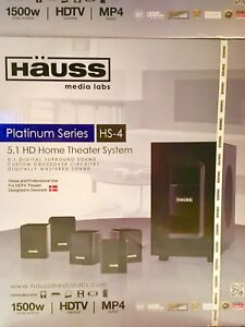Häuss 5.1 HD Home Stereo Theatre Speakers