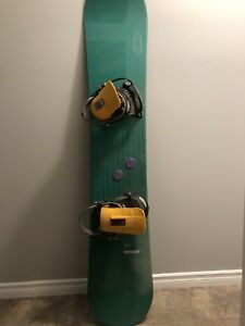 Salomon 160 snowboard