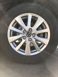 CX-5 rims and tires