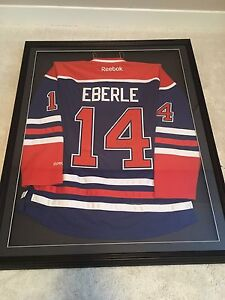 Autographed EBERLE Jersey with Frame