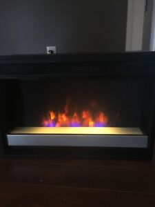 Electric fireplace insert (missing glass)