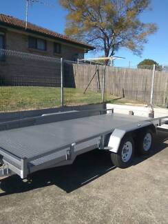 CAR TRAILER 16.6 X 6.6 HEAVY DUTY BUILT OVER ENGINEERED READ INFO Wollongong Wollongong Area Preview