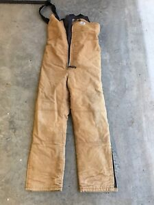 Work King Insulated Overalls Sz M