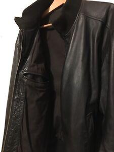 Men's Gap Brown Leather jacket/bomber