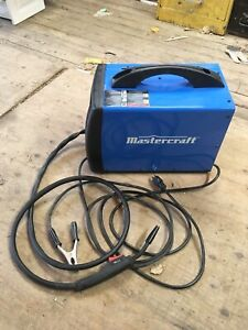 Master craft 80A - FluxCore Wire feed welder kit