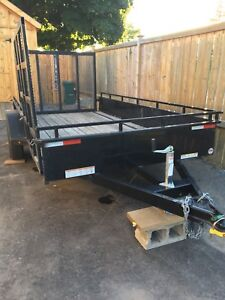 Sure Trac 6x12 landscaping trailer