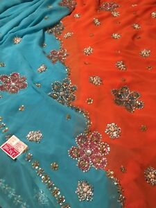 Saree (BRAND NEW with blouse material)