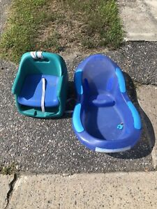 Free baby bath and booster seat