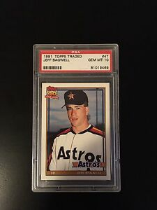 PSA 10 - 1991 Topps Traded Jeff Bagwell RC