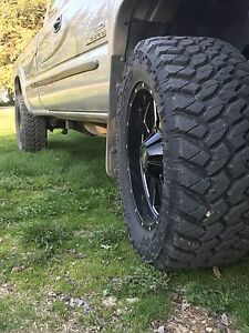 8x6.5 motor metal rims nitto trail grapplers mt