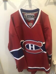 Chandails hockey officiels du canadiens