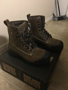 Royer Metal Free Work Boots sz10