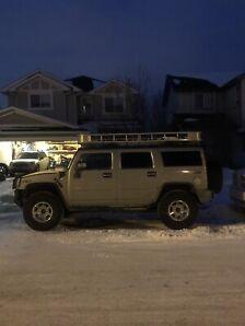 Hummer h2 roof carrier/basket/racks