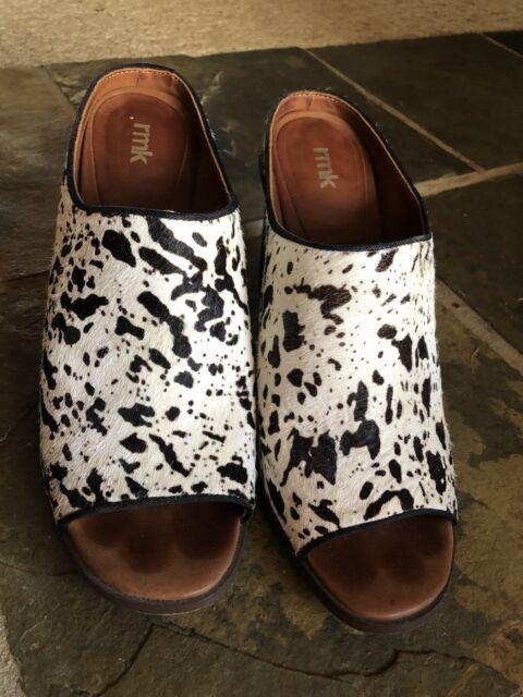 5f9362b0283 Horse Hair Heels - RMK  Ferrera  Size 41   47  10 Block Heels