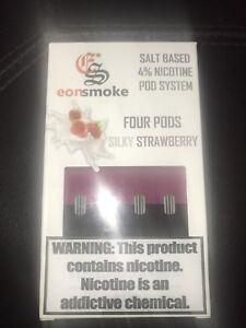 1ML PODS (4% or 6% nicotine) COMPATIBLE WITH JUUL 30$ A PACK!