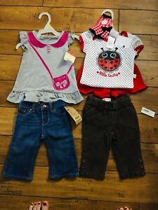 6-9 month girl clothing all NEW