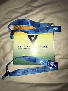 **2 VELD 2017 VIP 2 DAY TICKETS