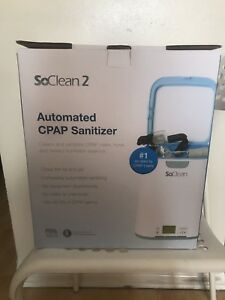 So Clean 2 CPAP Cleaner sanitizer new / Neuf !